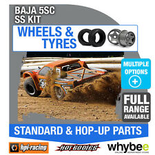 HPI BAJA 5SC SS KIT [Wheels & Tyres] Genuine HPi 1/5 R/C Scale!
