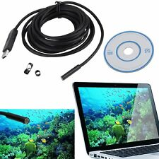 5M 6LED Android Endoscope Waterproof Inspection Camera USB Video Camera New MC