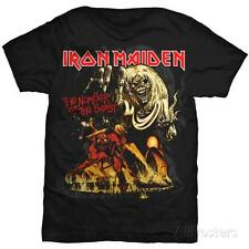 IRON MAIDEN NUMBER OF THE BEAST BRAND NEW 100% OFFICIALLY LICENSED T-SHIRT