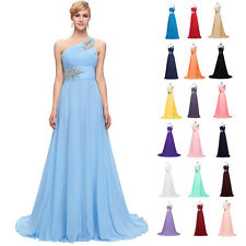 GRACE KARIN Long Pageant Chiffon Bridesmaid Evening Gowns Prom Dress Size 6-20
