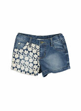 Pumpkin Patch Girls Denim Shorts with Lace