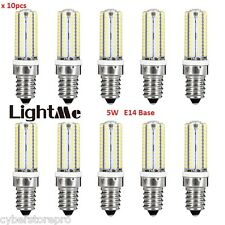Lightme 10PCS AC 110V 220V 5W E14 SMD 3014 LED Bulb with 104 LEDs