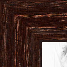 ArtToFrames 1.125 Inch Walnut Stain on Oak Wood Picture Poster Frame ATF-80209