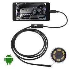 2M Android Endoscope 7mm 6 LED USB Waterproof Borescope Inspection MC