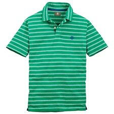 Timberland Men's Short Sleeve Jersey Stripe Green Polo Shirt Style 5717J