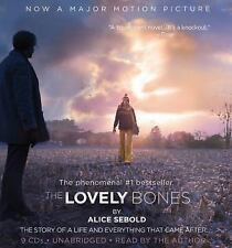 The Lovely Bones by Alice Sebold NEW Audio Book 9 CDs Unabridged Boxed Set