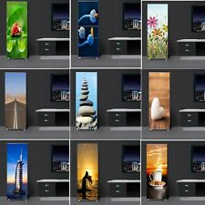 Fridge Door Sticker Self-adhesive Refrigerator Vinyl Decal Home Decor Wallpaper