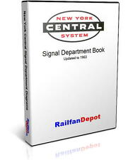 New York Central Railroad Signal Diagrams - PDF on CD - RailfanDepot