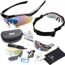 Unisex Polarized Mirrored Cycling Glasses Bike Goggles Outdoor Sports Sunglasses