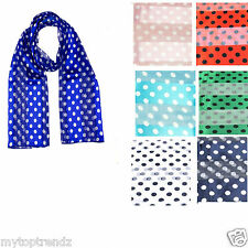 Polka Dot Scarf Satin Strip Polka Dot Scarf Wrap Retro Polka Dotted Neck Scarf