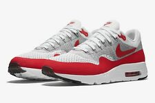 """Nike Air Max 1 Ultra Flyknit """"Sport Red / Grey""""UK 7-11  EUR 41-46 843384-101"""