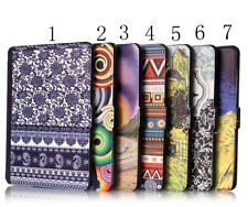 Pattern PU Leather Stand Case Cover Protector Pouch For Amazon Kindle Paperwhite