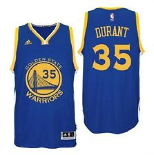 Kevin Durant Golden State Warriors #35 BLUE Stitched Jersey Swingman NBA S-2XL