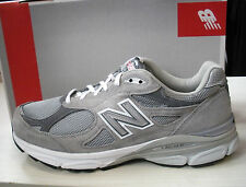 NEW BALANCE MENS 990 RUNNING SHOES - SNEAKERS- GRAY- #M990GL3-4E WIDTH-NEW  NEW