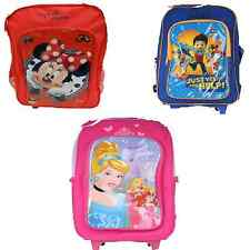 265 5019 MINNIE MOUSE,DISNEY PRINCESS AND PAW PATROL TROLLEY BACKPACK SCHOOL BAG