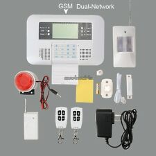 Dual Network GSM Wireless Home Security Alarm System Kit With Keyboard
