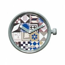 case O'CLOCK SPLASH mechanism TILES colors watches TARTAN clock fullspot LACE