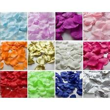 1000pcs Various Color Silk Flower Rose Petal Celebrated Wedding Party Decoration