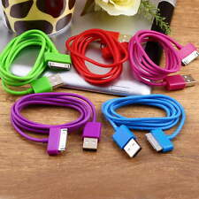 USB Charger Data Cable for iPad2 3 iPhone 4 4S 3G 3GS iPod Nano Touch UE