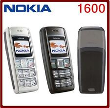 Original Nokia 1600 mobile phone Dualband Classic GSM GSM 900 / 1800 Cheap Cell