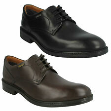 CHILVERWALK GTX MENS CLARKS CASUAL FORMAL WATERPROOF LACE UP LEATHER  WORK SHOES