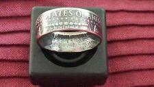 Silver JFK Kennedy Half Dollar Coin Rings 1965-1969 U Pick Yr. & Size 10-13 Read