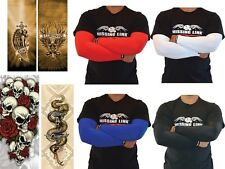 MISSING LINK ARMPRO Compression Arm Sleeves Motorcycle Bike Riding Tatoo Design
