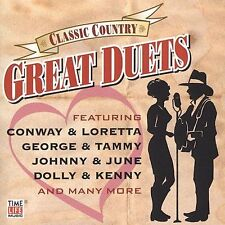 TIME LIFE MUSIC Classic Country Great Duets CD + BONUS 1965-1969