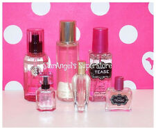 Victoria's Secret Perfume .25 oz, Body Mist 2.5 Heavenly, Bombshell, Noir Tease