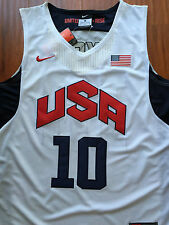 Kobe Bryant #10 London 2012 USA Olympic Dream Team Jersey Sewn/Stitched NWT
