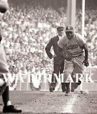 Jackie Robinson Stealing Home  Brooklyn Dodgers Baseball 8x10 11x14 16x20 Photo