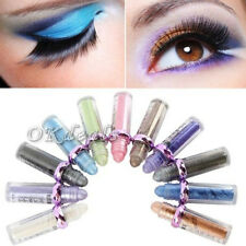 Hot Single Roller Color Eyeshadow Glitter Pigment Bright Eye Shadow Cosmetic