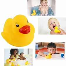 1/10/20pcs Baby Bathing Bath Tub Toys Mini Rubber Duck Yellow New IT