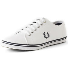 Fred Perry Kingston Mens Trainers White New Shoes
