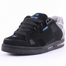 Globe Sabre Nubuck Mens Trainers Black Grey Blue New Shoes