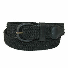 New Hickory Creek Mens Elastic 1 1/4 Inch Braided Stretch Belt