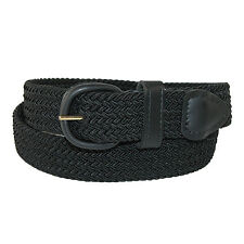 New Hickory Creek Men's Elastic 1 1/4 Inch Braided Stretch Belt