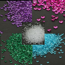 New 12 Colors Wedding Decoration Crystals Diamond Table Confetti Party Supplies