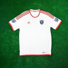 San Jose Earthquakes ADIDAS MLS White Authentic On-Field Jersey Men's