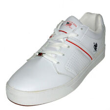 U.S. Polo Assn. Shoes Madrid Mens White Sneakers