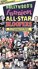 Sealed Hollywood's Funniest all-star Bloopers VHS Tape 2001