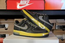 2007 Nike Air Force 1 Low SUPREME MAX Charcoal/Yellow Size 10.5 - (316666-001)