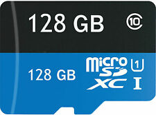 128GB Micro SD SDHC TF Memory Card Class 10 wSD Adapter For Phones Tablet Camera