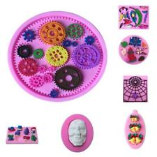 Multi Shaped 3D Baking Mould Chocolate Candy 3D SILICONE MOULD Fondant Cake Mold