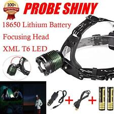5000 Lm CREE XM-L XML T6 LED Headlamp Headlight 18650 Flashlight Head Light Lamp