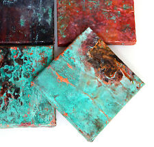 Copper Metal Accents Tiles Rustic Metal Flooring Walls Tin Artisan Kitchen Tile