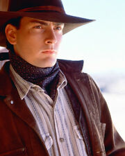 Charlie Sheen Color Poster or Photo Young Guns