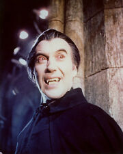 Christopher Lee Color Poster or Photo as Dracula
