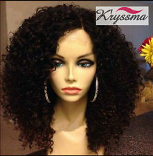 Best Curly Human Hair Lace Front Wigs 6A Indian Remy Hair Glueless Best Lace Wig