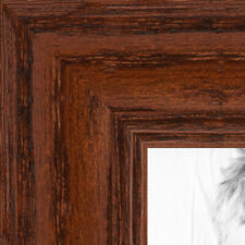 ArtToFrames 1.25 Inch Walnut Stain on Oak Wood Picture Poster Frame 59504 SM